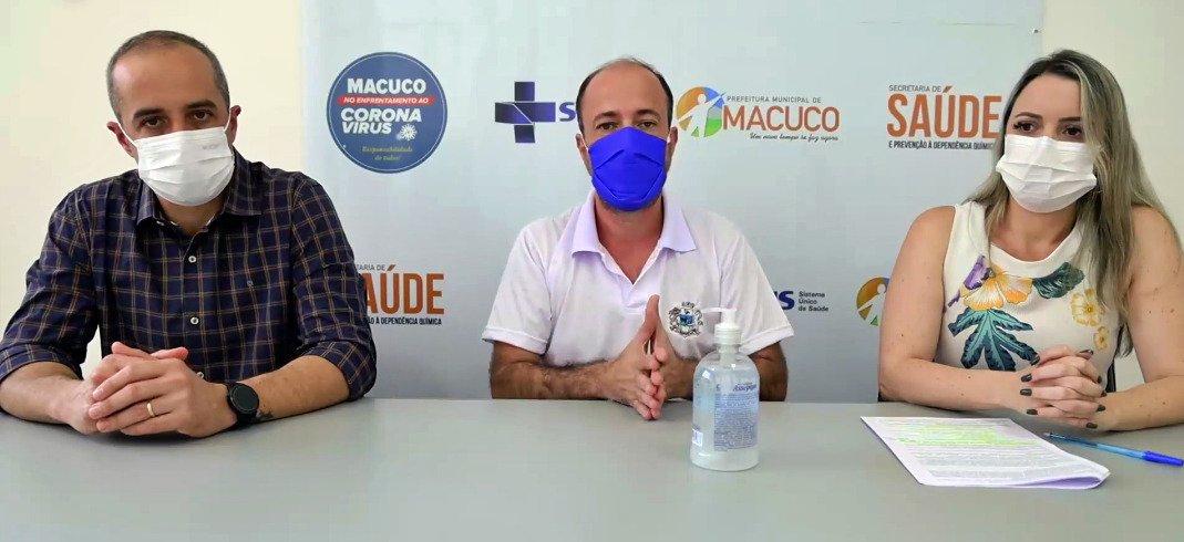 Macuco inicia aplicação das doses de reforço contra o coronavírus