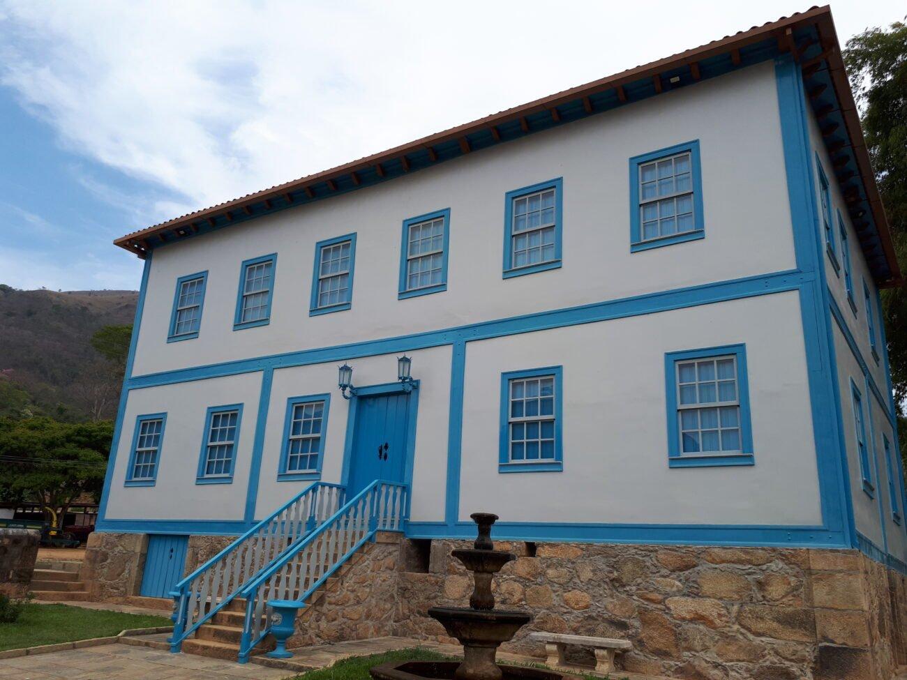 Fazenda Santa Cruz na freguesia do Paquequer. Acervo pessoal