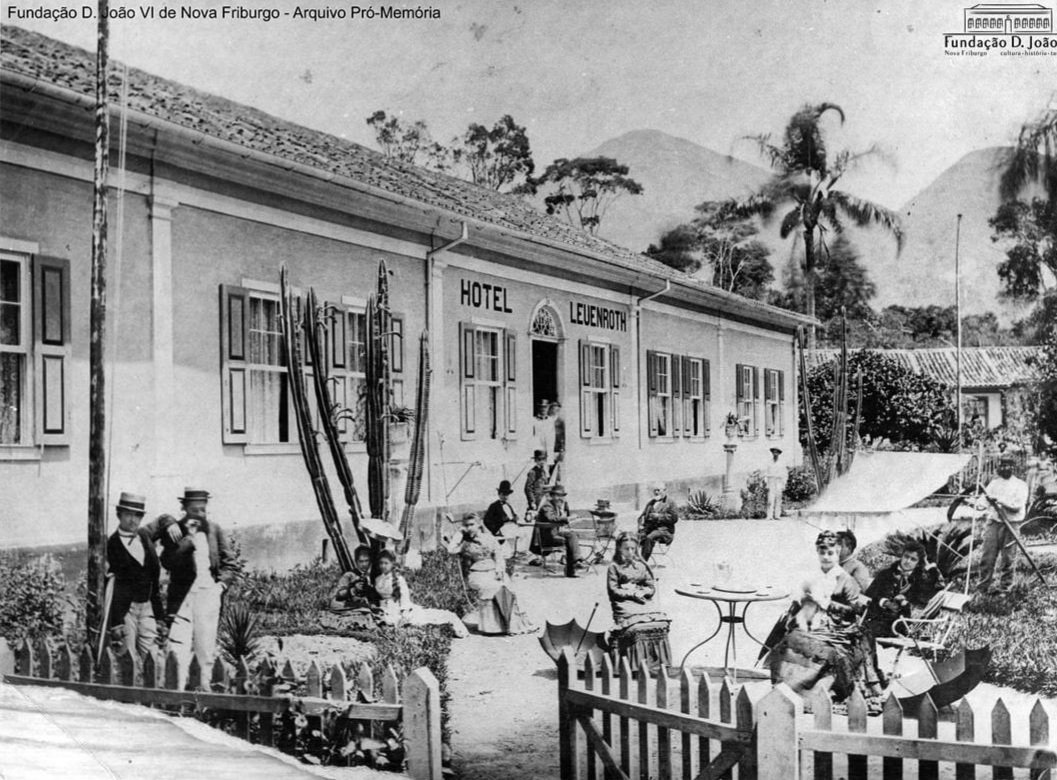 Hotel Leuenroth. Acervo F. D. João VI
