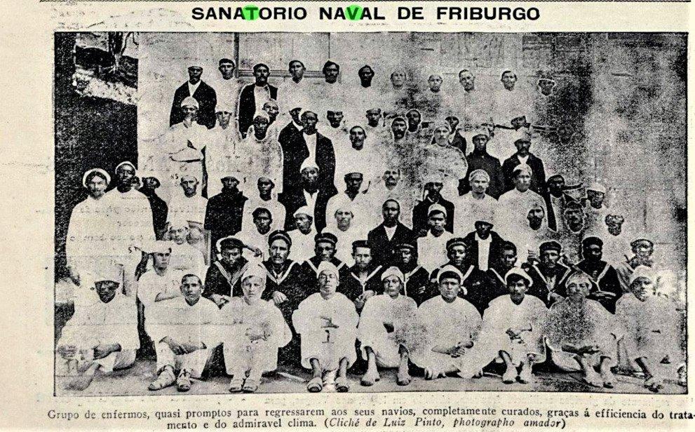 Marujos do Sanatório Naval. Acervo BN
