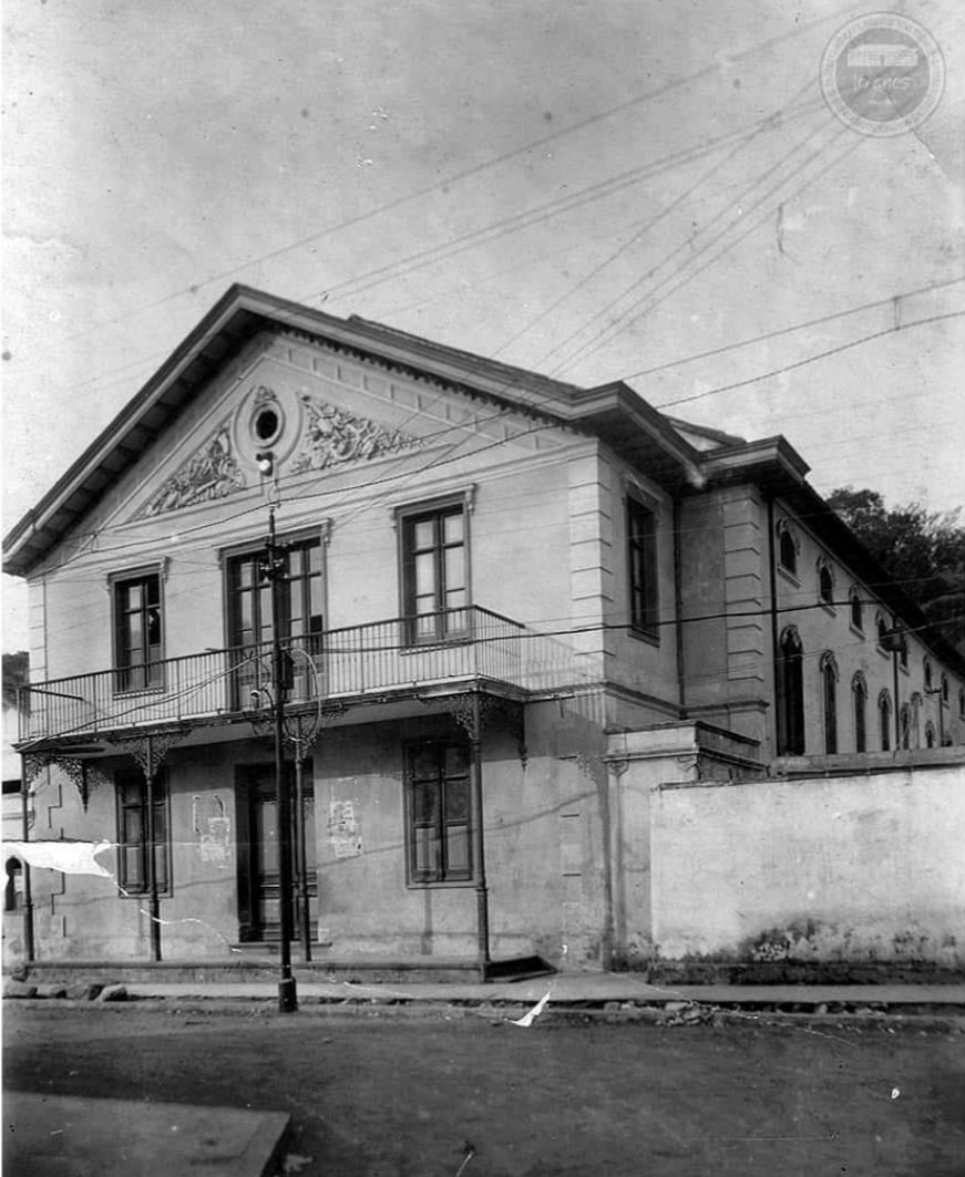 Teatro Dona Eugênia, onde ocorriam as pelejas de boxe. Acervo pessoal