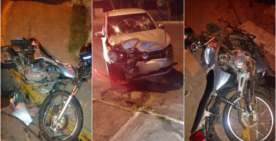 Vídeo: Grave colisão entre carro e moto em Cordeiro