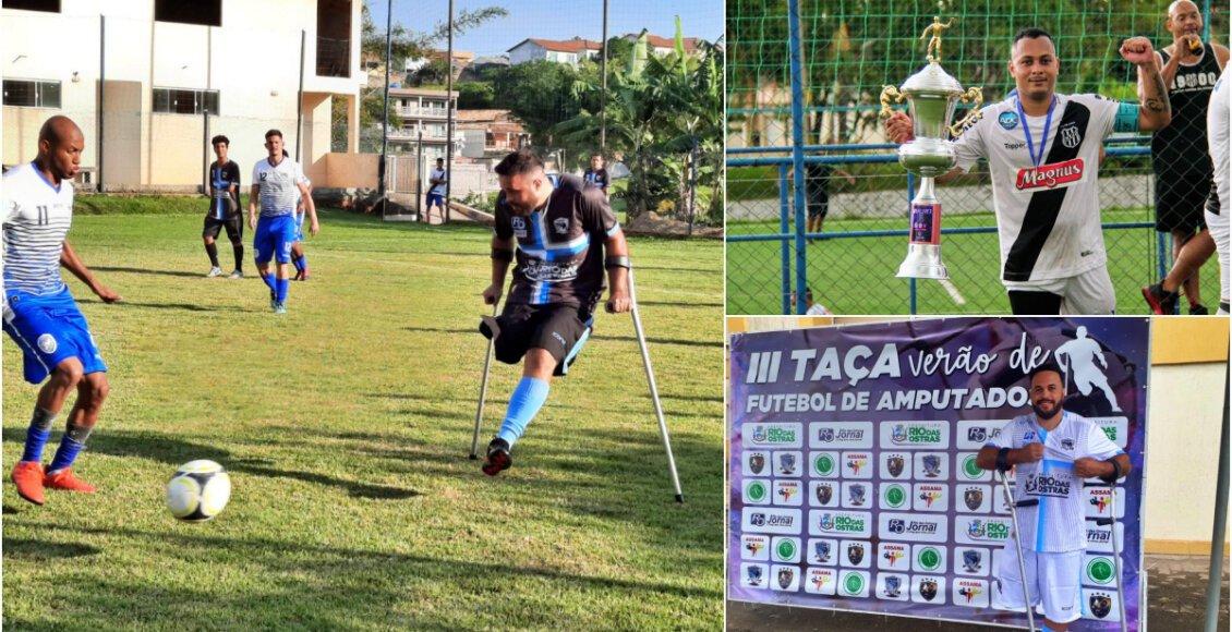 Atletas de Cantagalo vão defender Seleção Brasileira de Futebol para Amputados