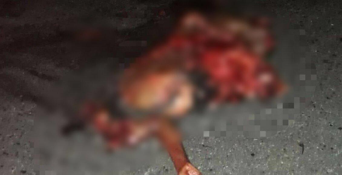 Homem morre atropelado por dois veículos em Conceição de Macabu