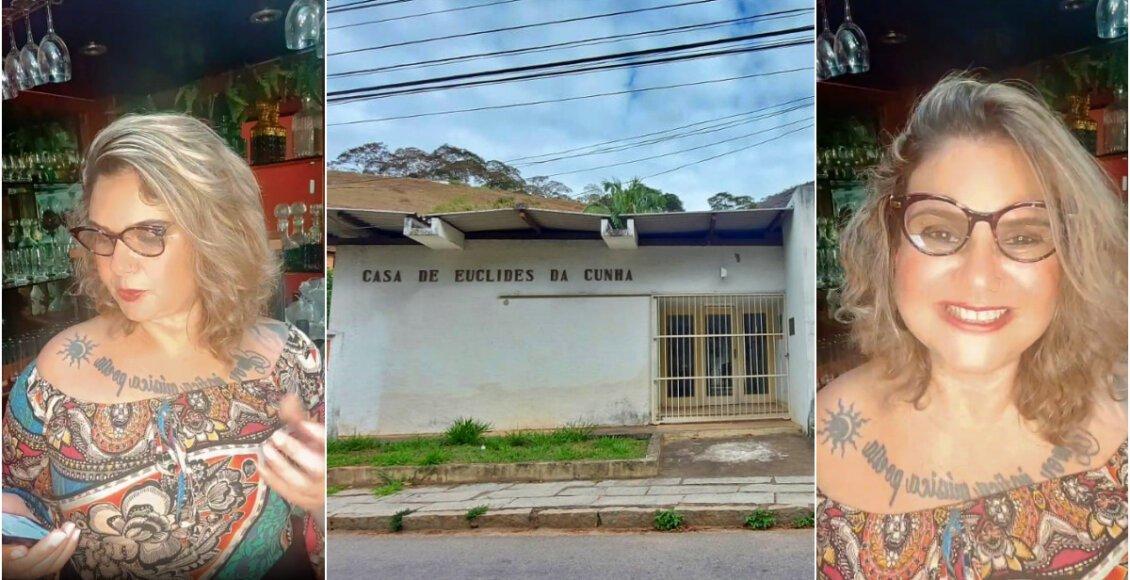 Bisneta de Euclides da Cunha cobra autoridades sobre centro cultural de Cantagalo