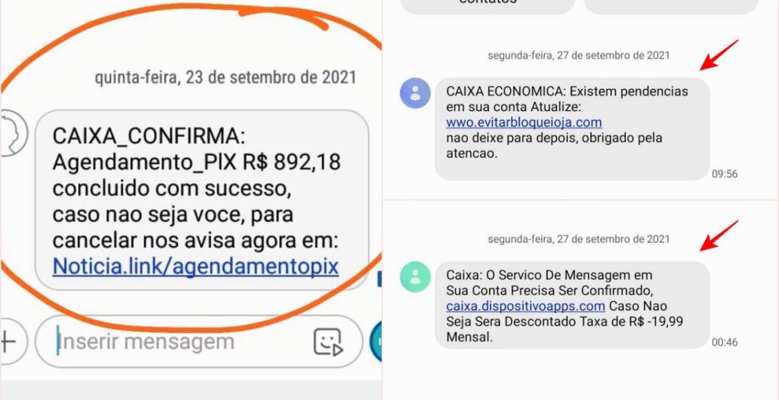 Golpe! Polícia alerta sobre falso SMS em nome da Caixa Econômica Federal