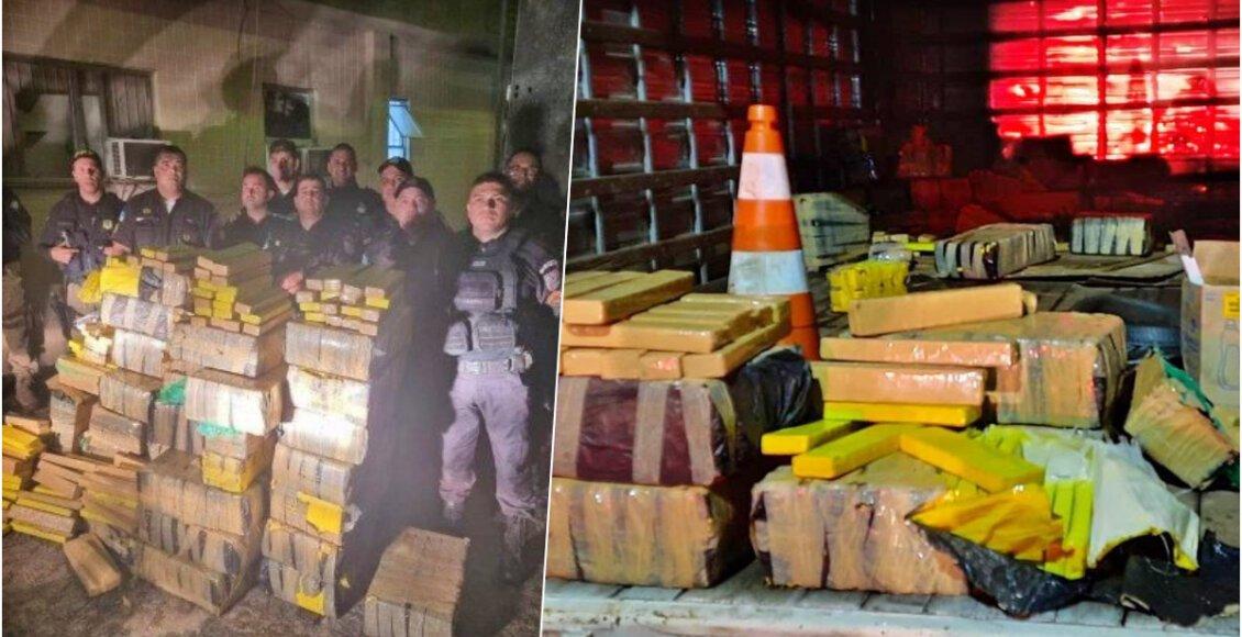 Polícia apreende quase uma tonelada de maconha em Campos dos Goytacazes