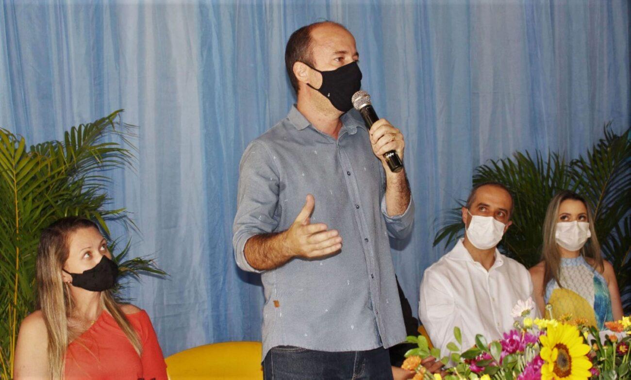 Bruno Boaretto expôs o empenho de todos na conquista dos recursos para viabilizar o projeto e apontou a busca ativa como melhoria da saúde em médio prazo