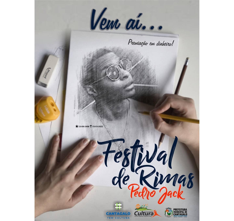 Cantagalo anuncia Festival de Rimas em homenagem ao rapper Pedro Jack