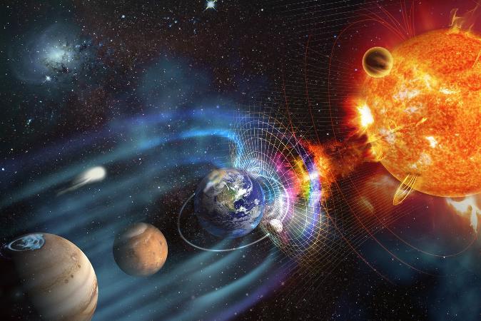 Onda solar atinge a Terra e causa interferência na internet e canais de TV