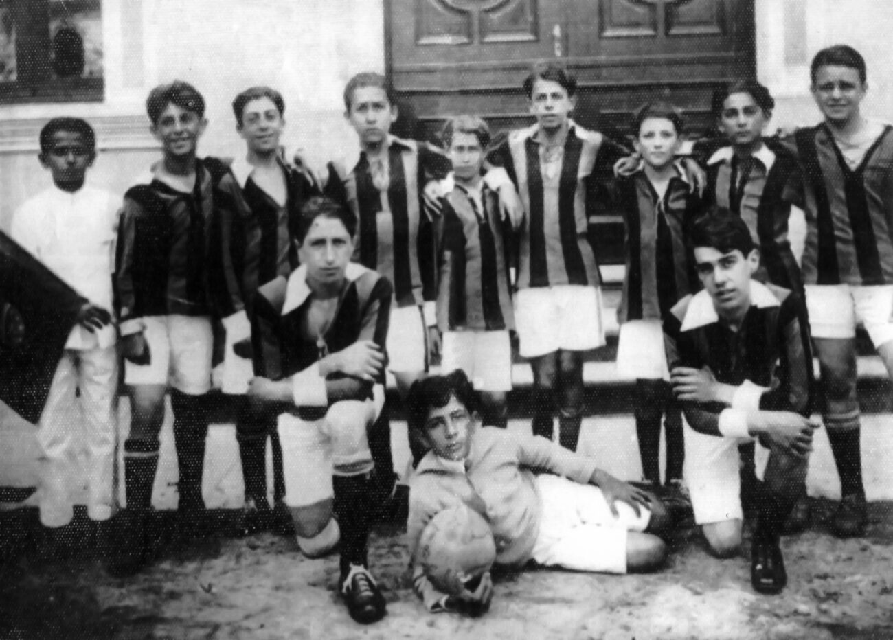 Alunos do Colégio Anchieta na década de 1920. Acervo pessoal