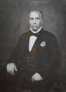 João Antônio de Moraes, primeiro Barão das Duas Barras.