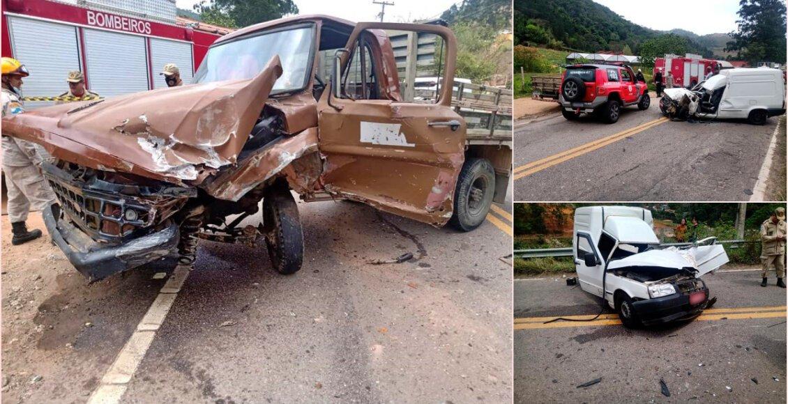 Colisão entre veículos deixa três feridos na RJ-130, em Teresópolis